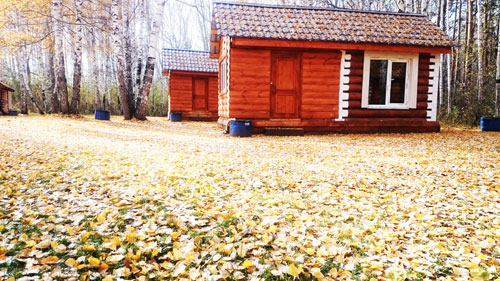 Зимой и летом аренда теплых избушек на берегу озера Шарташ